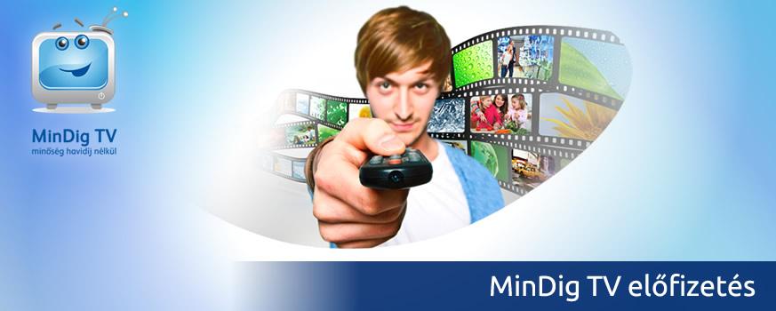 MinDig TV előfizetés