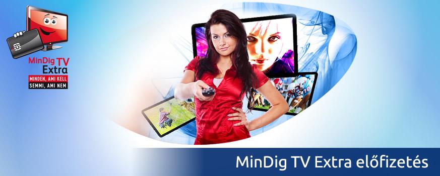 MinDig TV Extra előfizetés